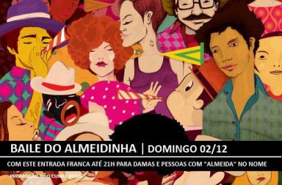 Baile do Almeidinha e-flyer
