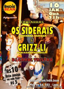 Grizz Li e os Siderais 2