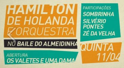 Baile do Almeidinha Quinta 11.04