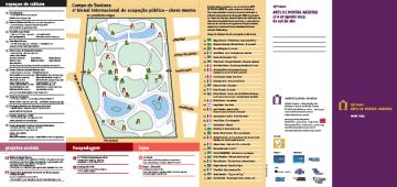 Mapa Arte de Portas Abertas Bienal de Ocupação Pública